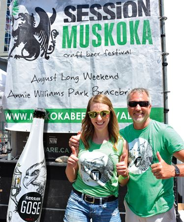 SESSION MUSKOKA is Aug. 1