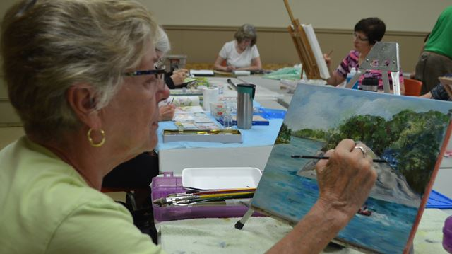 Westover artists gearing up for Oct. 17 show