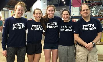 Stingrays reach podium