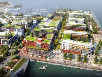 Hamilton waterfront urban design plan