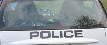 A Hamilton police car is shown in a 2017 file photo.