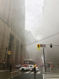Toronto Hydro blast