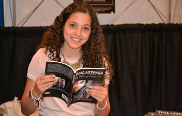 Jude Kamal, 21, was promoting her book Thalassemia: My Lifelong Companion at the second annual Extravaganza Expo on Sunday (June 16) at the Red Rose Convention Centre.