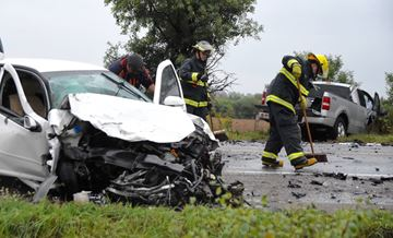 Lindsay Road crash - Sept. 26, 2016