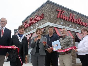 Collingwood's First Street Tim Hortons unveils brand new look