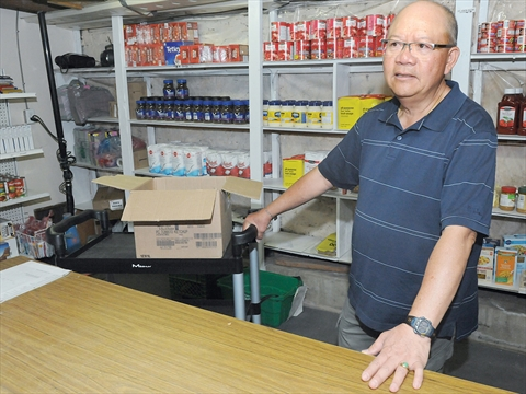 Need for uxbridge loaves and fishes food bank continues to for Loaves and fishes food pantry