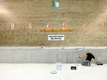 Dunbarton pool repairs