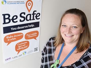 Be Safe app Stacey Beaveridge