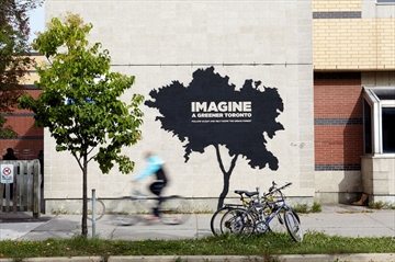 Public art installation campaign by LEAF encourages Torontonians to help the city's tree canopy grow-image1