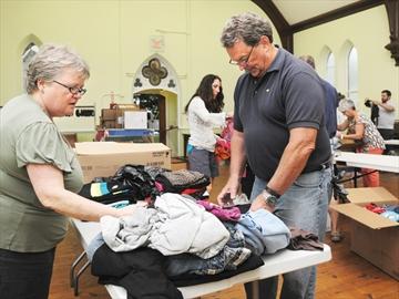 Clothing donation for Nunavut
