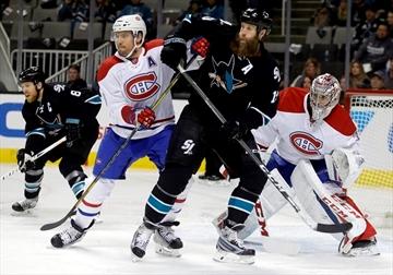 Jones stops 31 shots, Sharks beat Canadiens 2-1-Image1