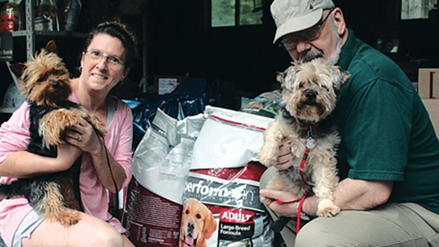 Keeping owners, pet together
