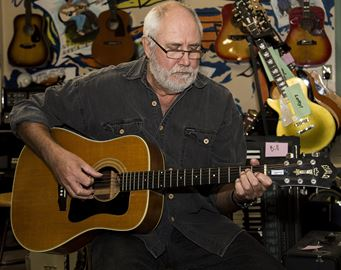 Roger Eccleston is the coordinator of the Joe Chithalen Memorial Musical Instrument Lending Library. Joe's MILL will soon be moving from its Bagot Street location to the Tett Centre for Creativity and Learning.