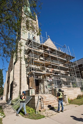 Cathedral renovations hard hit by thefts, vandalism