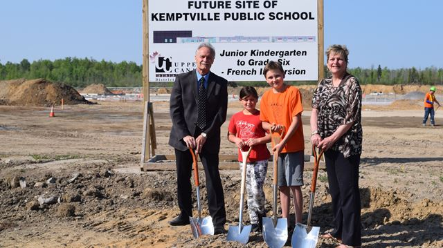 Sod turning ceremony for KPS