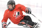 National sledge hockey star coaches young players in Barrie