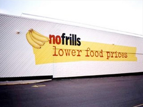 No Frills Lower Food Prices