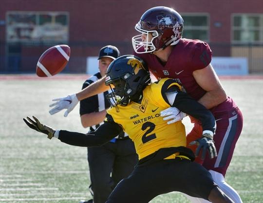 Waterloo rides three-game losing streak into university football playoffs