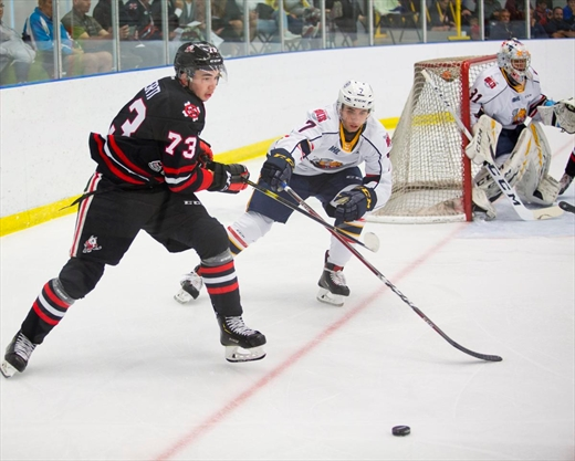 IceDogs suffer first loss in regulation