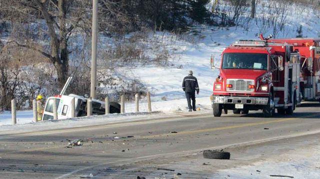Fatal crash in Erin