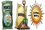 Today's cartoon: Spring's sunny ways