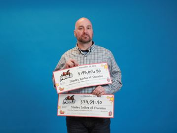 Thornton man wins over $232K