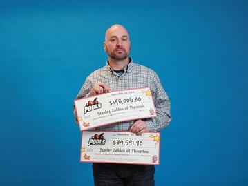 Thornton man wins over $232K