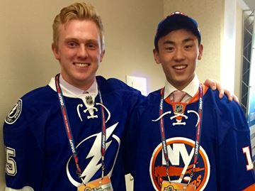 Three former Oakville Rangers selected in NHL draft