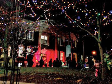Music and Lights in the Village