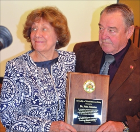 Recognizing Johnston's commitment to township– Image 1