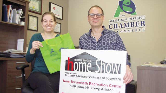 south simcoe home show in alliston this weekend