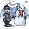 Today's cartoon: Deporting winter