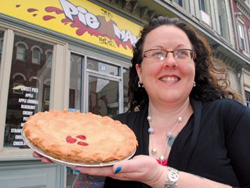 Math meets munchies at one-of-kind Pi Day celebration