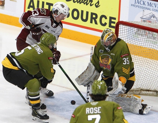 McTavish's pair helps Petes regain share of Eastern Conference lead