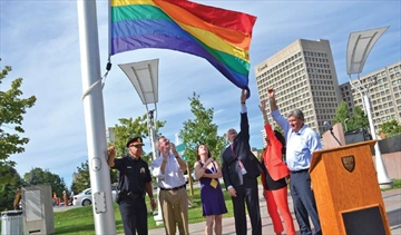 Ottawa raises flag to mark pride week– Image 1
