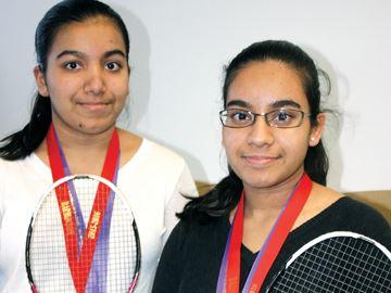 Badminton finals