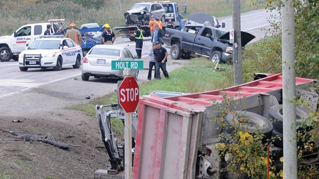 Taunton Road collision