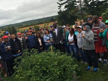 Bob Rumball Associations for the Deaf garden cultivates community
