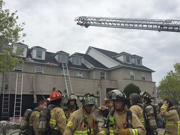 No one injured in $50,000 Oakville townhouse fire
