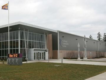 Cobourg town hall in brief