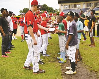 Once-in-a-lifetime experience for ball team