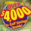 2015 Golf coupon book