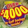 2015 Golf coupon book