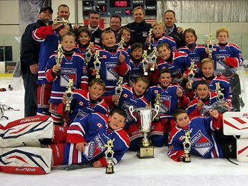Oakville minor atom AAA Rangers sharp to start hockey season