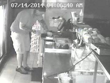 Break-in suspect