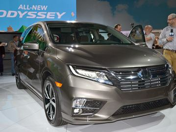 Honda wants families talking about the new Odyssey