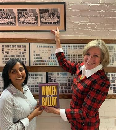 Peterborough author's new book focuses on women in politics