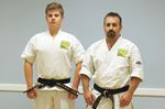 Training pays off with black belt