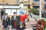 Soldiers honoured at cenotaph