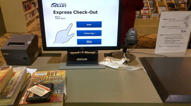 Self Checkout Coming To Mississauga Libraries